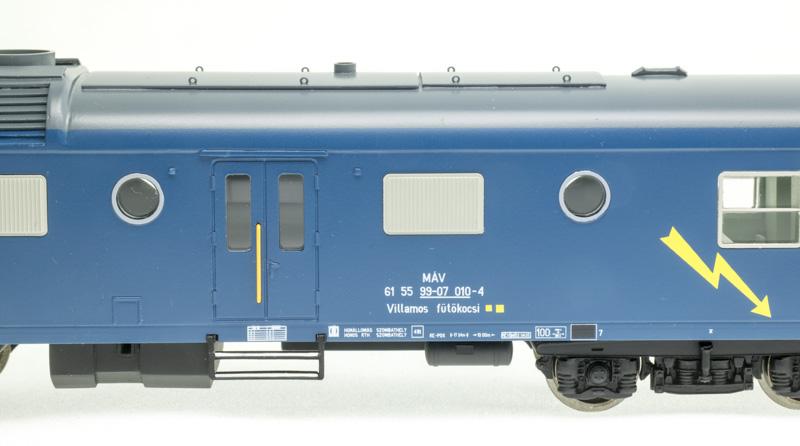 Digitools villamos fűtőkocsi (Rezsó) 010-4, MÁV V, hangdekóderrel