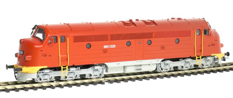 NMJ 90204 Dízelmozdony M61 020 NoHAB, MÁV IV