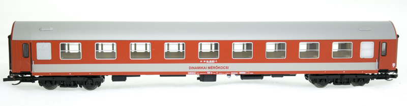 QuaBLA TT 71502 Dinamikai mérőkocsi, MÁV VI