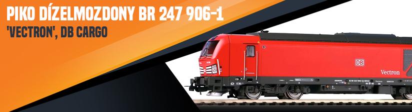 Piko 59986 Dízelmozdony BR 247 906-1 'Vectron