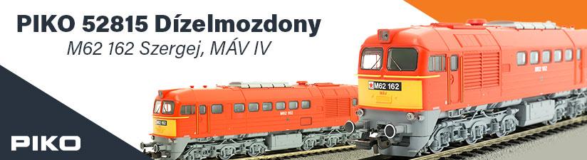 Dízelmozdony M62 162 Szergej, MÁV