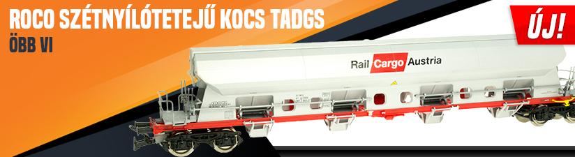 Roco 76411 Szétnyílótetejű kocs Tadgs, ÖBB VI