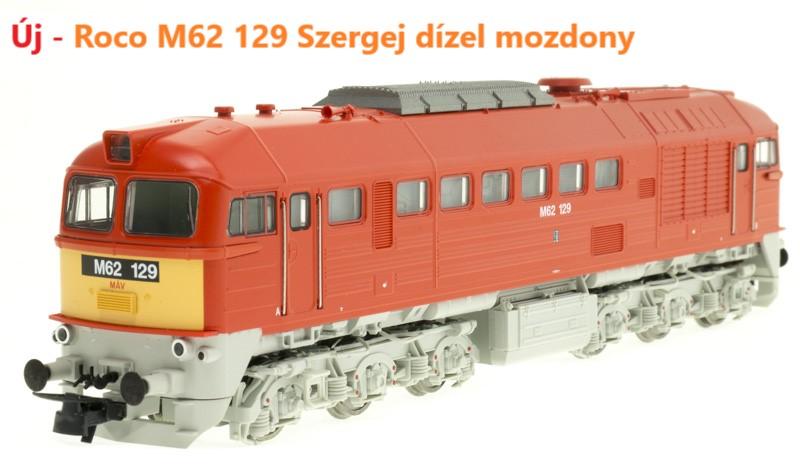 Roco M62 129 dízelmozdony, Szergej