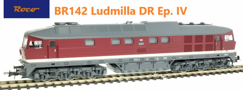 Roco 52462 Dízelmozdony BR 142 005-8