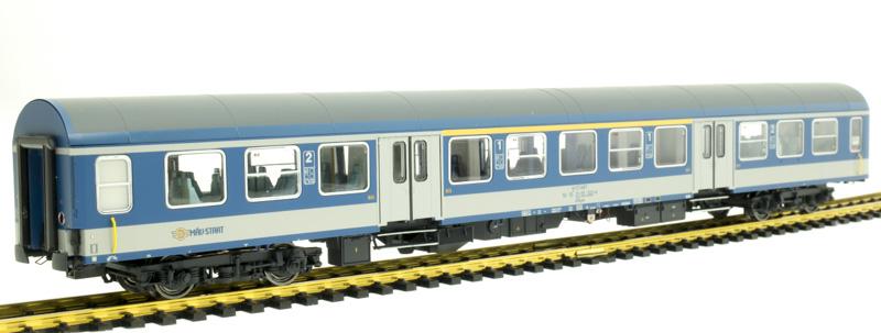 Brawa 46028 Személykocsi 1/2.o. AByee, Halberstadt, MÁV-Start VI
