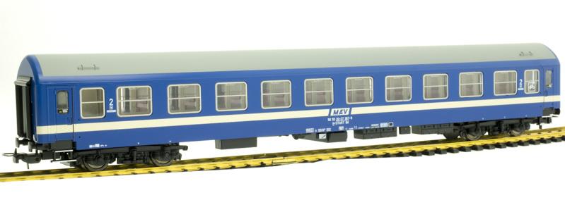 QuaBLA 21401 Retro személykocsi 2.o. Bd, 367-9, MÁV VI