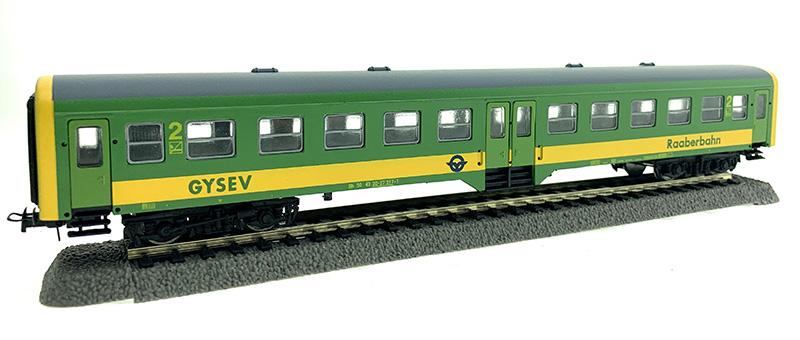QuaBLA 21223 Személykocsi 2.o. Bh, 20-07 317-1, GySEV VI