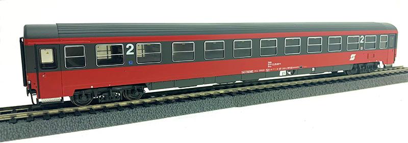 ACME 52571 Személykocsi 2.o. Bmz, fülkés, ÖBB V