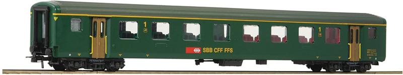 Roco 74569 Gyorsvonati kocsi 1.o.,EW II, SBB V