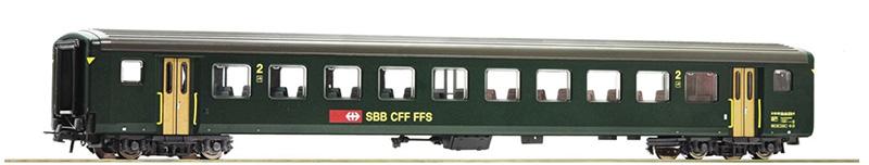 Roco 74571 Gyorsvonati kocsi 2.o., EW II, SBB V