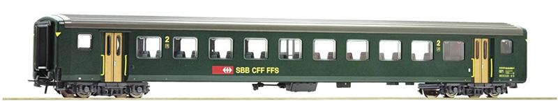 Roco 74572 Gyorsvonati kocsi 2.o., EW II, SBB V