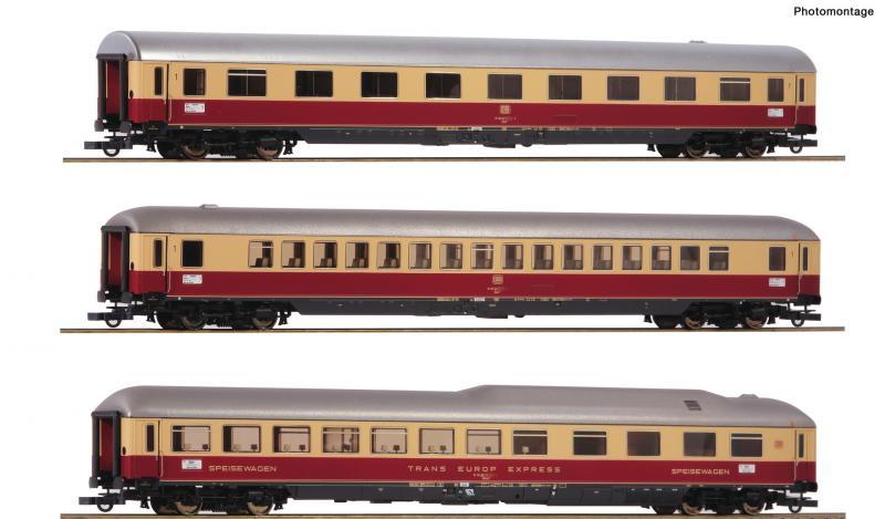 Roco 74135 Személykocsi szett TEE Rheingold, DB IV, 1. szett