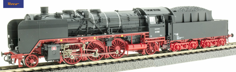 Roco 73019 Gőzmozdony BR 23 002, DB III, hangdekóderrel