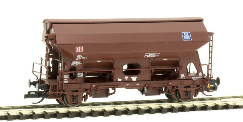 Tillig 17561 Szétnyíló tetejű önürítős kocsi Tds 941, DB AG, Hydro Agri Rostock GmbH VI