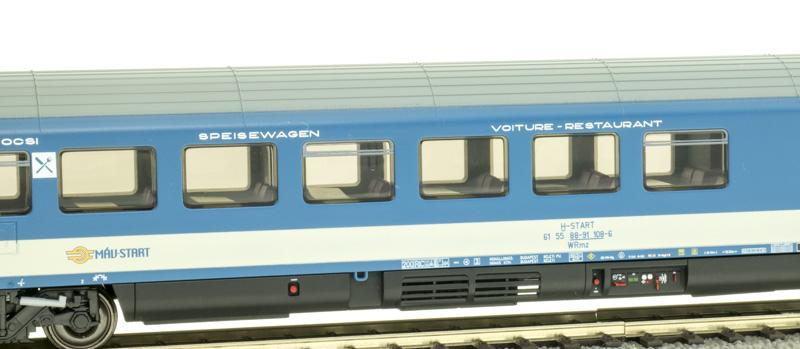 ACME 52042 Étkezőkocsi WRmz EuroCity, MÁV H-Start VI