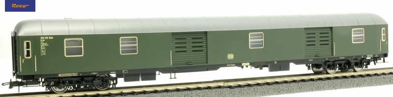 Roco 54452 Gyorsvonati poggyászkocsi D4üm, DB III