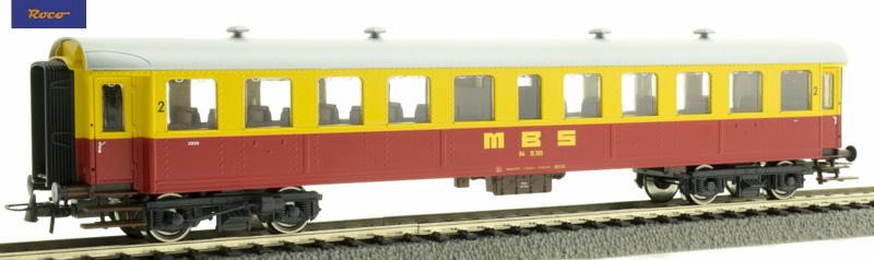 Roco személykocsi 2.o. MBS