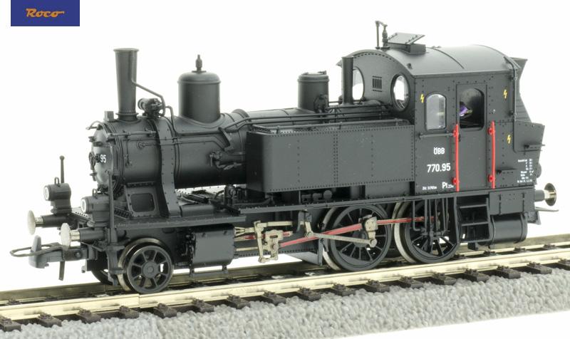Roco 73055 Gőzmozdony Rh 770, ÖBB III, hangdekóderrel