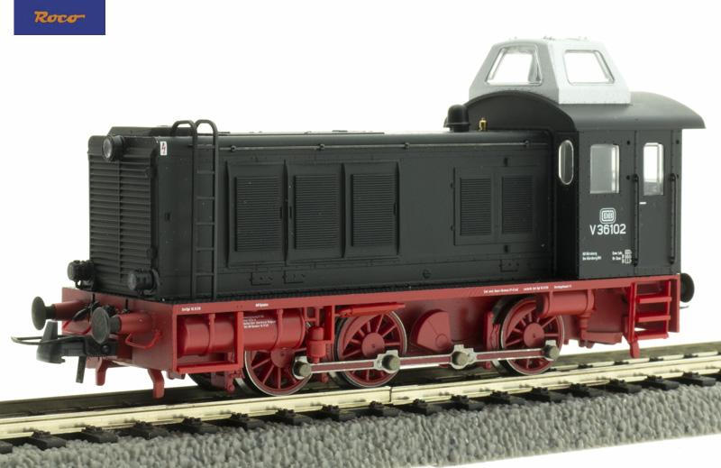 Roco 73069 Dízelmozdony V 36, DB III, magasított fülkével, hangdekóderrel