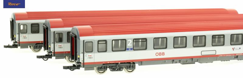 Roco 74132 Gyorsvonati személykocsi szett Regionalexpress, Innsbruck-Bozen, ÖBB VI
