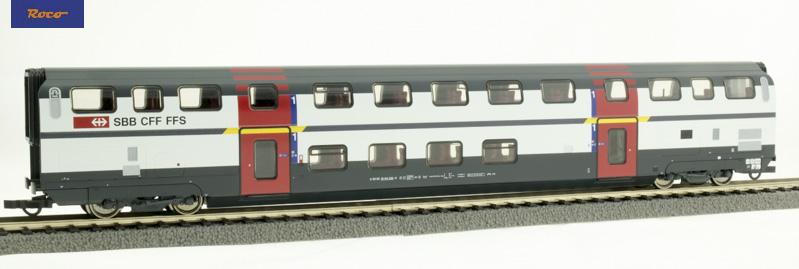 Roco 74500 Emeletes személykocsi 1.o. A, IC 2000, SBB VI