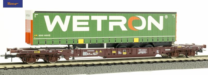 Roco 76232 zsebeskocsi T3 AAE+Wetron