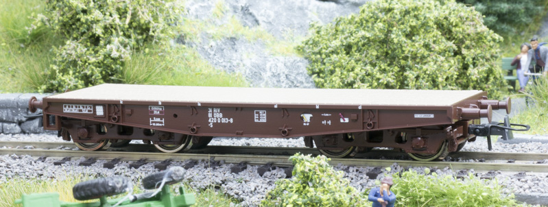 Roco 76392 Nehézteherszállító kocsi Smm, ÖBB IV-V