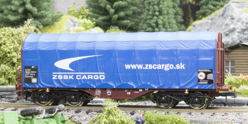 Roco 76441 Ponyvás kocsi, ZSSK-Cargo