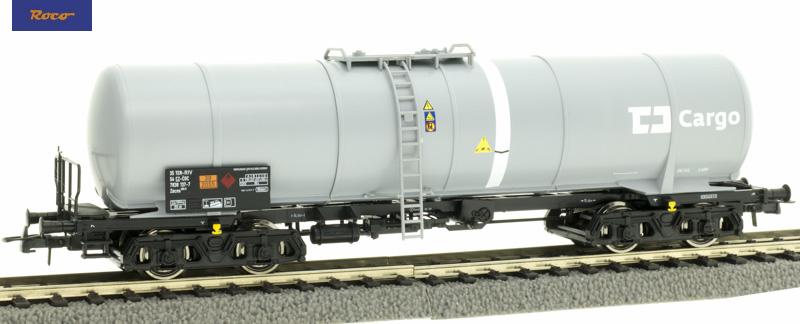 Roco 76699 Tartálykocsi fékhíddal Zacns, CD Cargo VI