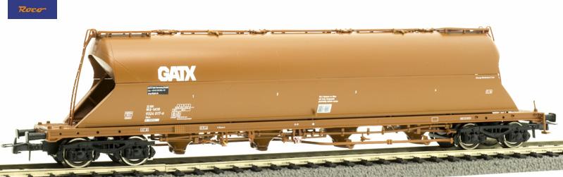 Roco 76705 Poranyagszállító silókocsi Uacs, GATX VI