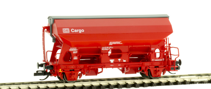 Tillig 17560 Szétnyíló tetejű önürítős kocsi Tdgs-v 930, DB Cargo, DB AG V