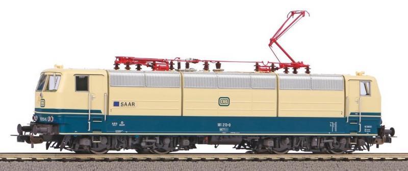 Villanymozdony BR 181 213-0 Saar, DB IV