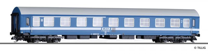 Tillig 16406 Személykocsi 1/2.o. ABa, Typ Y/B 70, MÁV IV