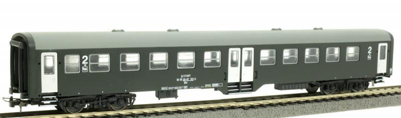 QuaBLA 21410 Személykocsi 2.o. Bhv, 20-07 707-2, MÁV-Start VI