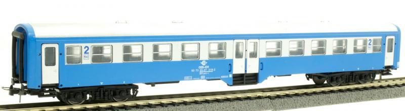 QuaBLA 60004 Személykocsi 2.o. BH, OSE IV