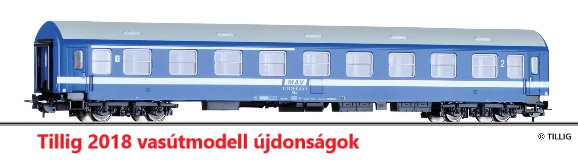 Tillig 2018 vasútmodell újdonságok