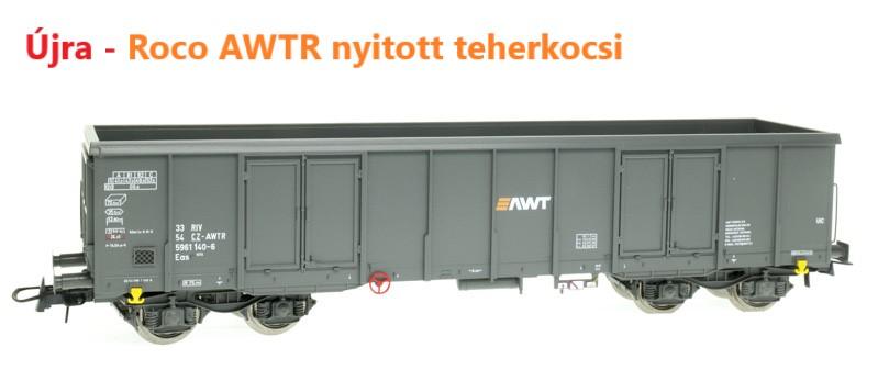 Roco 76907 Nyitott teherkocsi Eaos, AWTR VI