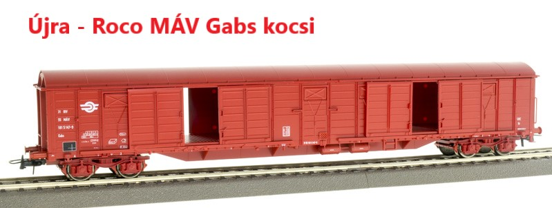 Roco MÁV Gabs kocsi