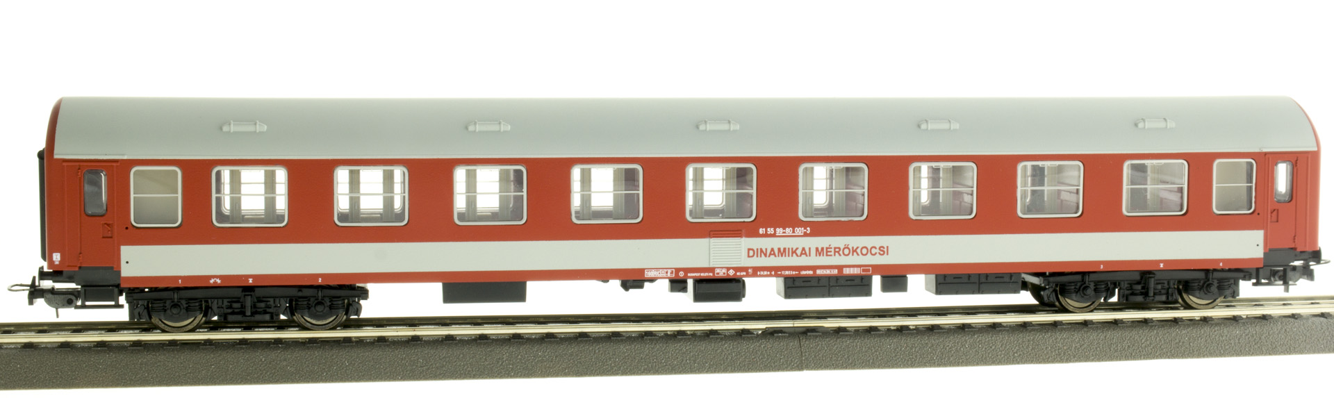 QuaBLA DO141 Dinamikai Mérőkocsi, MÁV V