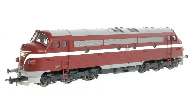 NMJ 90202 Dízelmozdony M61 010 NoHAB, MÁV IV
