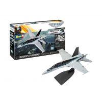 Revell 64965 Modell szett Easy Click F/A-18 Maverick Top Gun