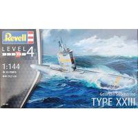 REVELL 05140 Német tengeralattjáró Typ XXIII 1/144