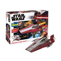 Revell 06770 SW Resistance A-wing Fighter red 1:44