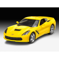 07449 REVELL 2014 Corvette Stingray 2014 1/25