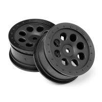 HPI 103039 ST-8 Fekete felni 2db 0mm offset