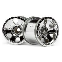 HPI 106722 WARLOCK WHEEL CHROME (2.2in/2pcs)