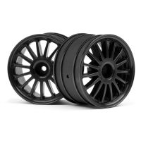 HPI 107972 WR8 TARMAC WHEEL BLACK 2.2