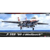 Academy 12504 1/72 F-14A VF-1 WOLF PACK