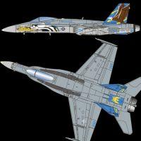 Academy 12534 F/A-18C USN VFA-82 Marauders 1:72