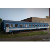 QuaBLA 21604 Személykocsi 2.o. Bmz, fülkés, EuroCity EC GOSA, MÁV V-VI, 2. pályaszám